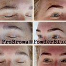 Henna Brow Design